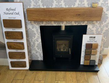 Fireplaces and fire surrounds showroom in Chesterfield, Derbyshire
