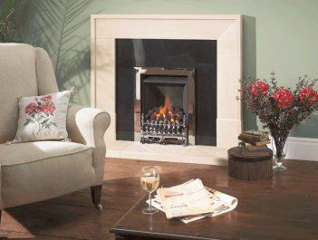 Gas fires showroom in Chesterfield, Derbyshire
